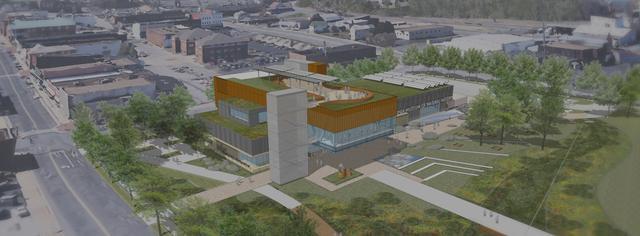 Conceptual Rendering of Future Waynesboro Campus