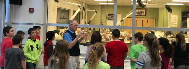 In-depth exhibit tours and exceptional classroom education