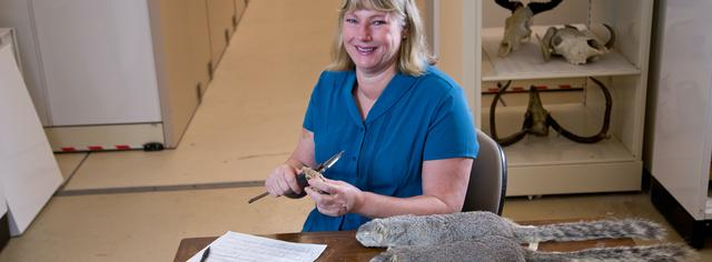 Dr. Nancy Moncrief, Curator of Mammalogy